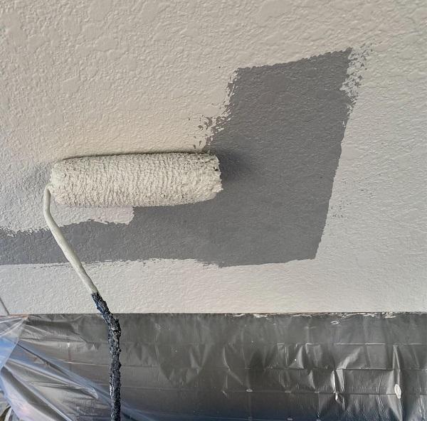 群馬県邑楽郡 アパート 屋根塗装・外壁塗装・付帯部塗装3 (2)