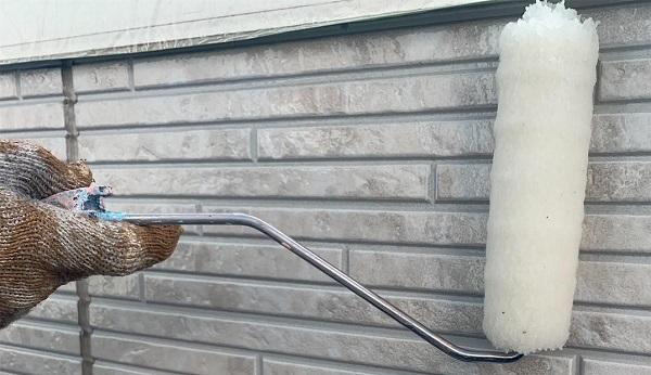 群馬県高崎市 I様邸 外壁塗装・付帯部塗装 ガイソーウォール無機アンダーコート、ガイソーウォール無機F (2)