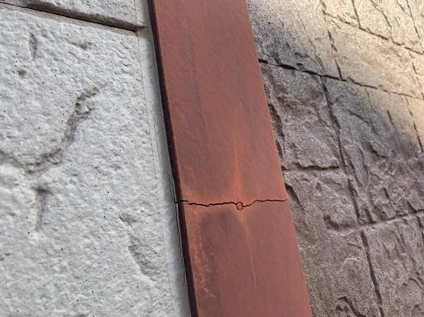 群馬県前橋市 K様邸 屋根塗装・外壁塗装・付帯部塗装 施工前の状態 セメント瓦 (4)