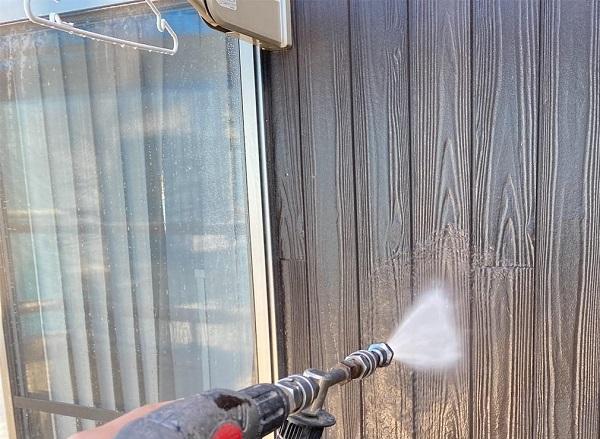 群馬県前橋市 G様邸 外壁塗装・付帯部塗装 バイオ洗浄 ガイソーパワークリーナー1 (2)