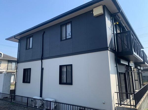 群馬県邑楽郡 アパート 屋根塗装・外壁塗装・付帯部塗装 (17)