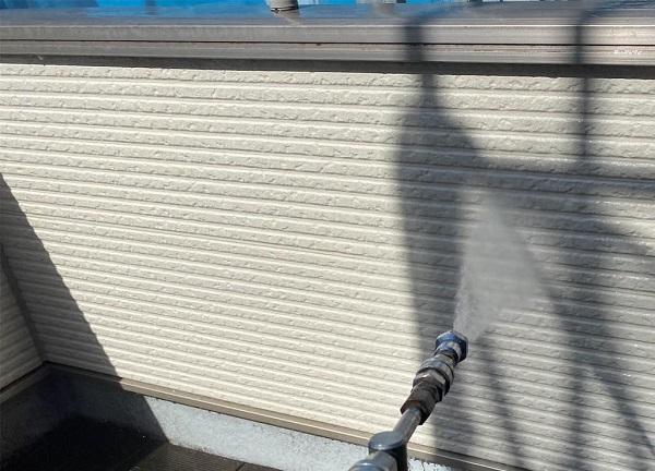 群馬県前橋市 G様邸 外壁塗装・付帯部塗装 バイオ洗浄 ガイソーパワークリーナー1 (3)