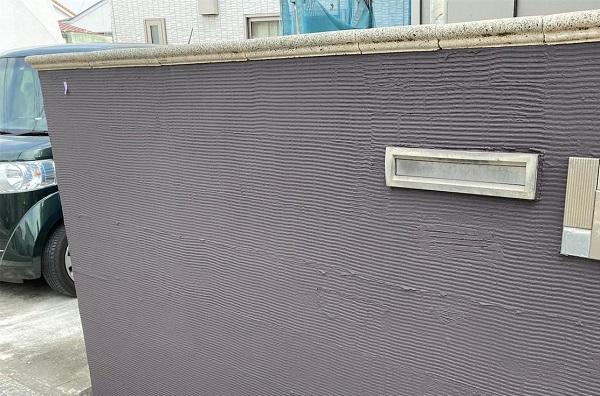 群馬県前橋市 G様邸 外壁塗装・付帯部塗装 塀の塗装 DIYは可能?2