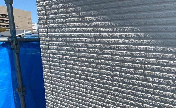 群馬県前橋市 G様邸 外壁塗装・付帯部塗装 施工前の状態 チョーキング現象 (1)