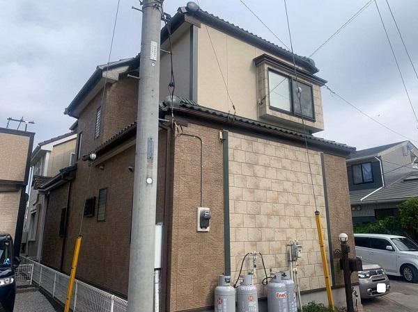 群馬県前橋市 K様邸 屋根塗装・外壁塗装・付帯部塗装・防水工事 (4)