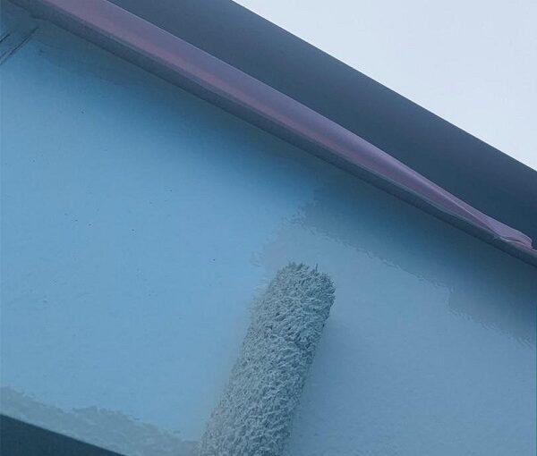 群馬県高崎市 I様邸 外壁塗装・付帯部塗装 雨樋、破風板、鼻隠し塗装 ケレン作業とは (8)
