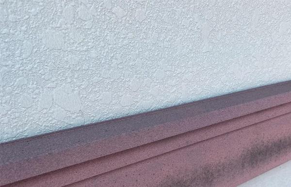 群馬県邑楽郡 アパート 屋根塗装・外壁塗装・付帯部塗装 施工前の状態 劣化症状 (2)