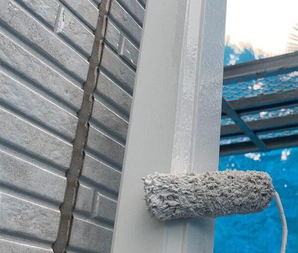 群馬県高崎市 I様邸 外壁塗装・付帯部塗装 雨樋、破風板、鼻隠し塗装 ケレン作業とは (3)