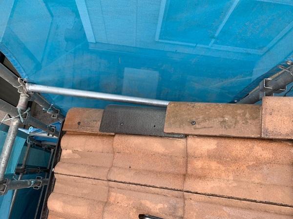 群馬県前橋市 K様邸 屋根塗装・外壁塗装・付帯部塗装 ケラバ瓦補修 ガイソールーフガードネオMUKI(遮熱) (3)