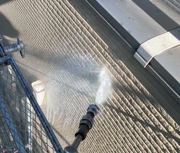 群馬県前橋市 G様邸 外壁塗装・付帯部塗装 バイオ洗浄 ガイソーパワークリーナー (1)