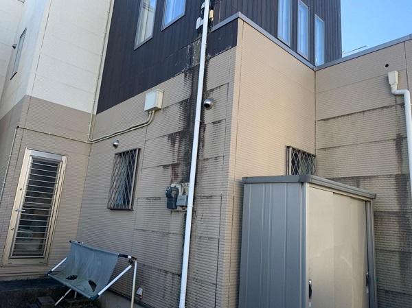 群馬県前橋市 G様邸 外壁塗装・付帯部塗装 施工前の状態 チョーキング現象 (7)