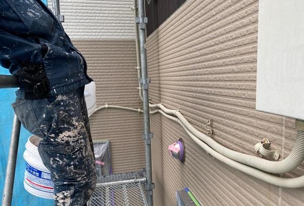 群馬県前橋市 G様邸 外壁塗装・付帯部塗装 ガイソーウォールカチオンシーラー・ガイソーウォールマイティシリコン (4)