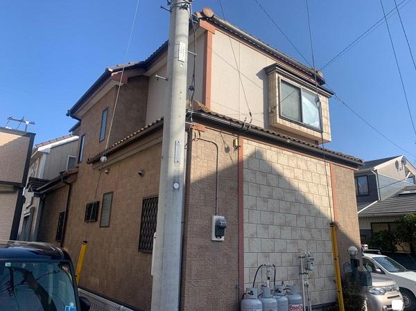 群馬県前橋市 K様邸 屋根塗装・外壁塗装・付帯部塗装・防水工事 (7)