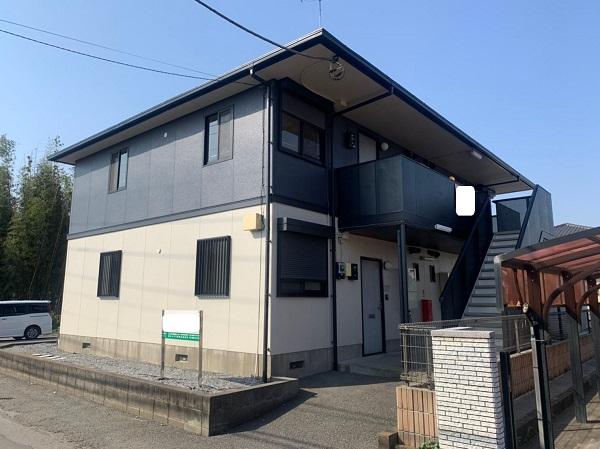 群馬県邑楽郡 アパート 屋根塗装・外壁塗装・付帯部塗装 (20)
