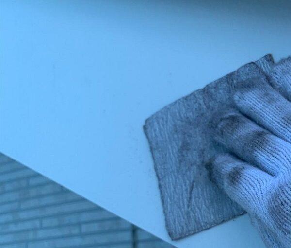 群馬県高崎市 I様邸 外壁塗装・付帯部塗装 雨樋、破風板、鼻隠し塗装 ケレン作業とは (4)