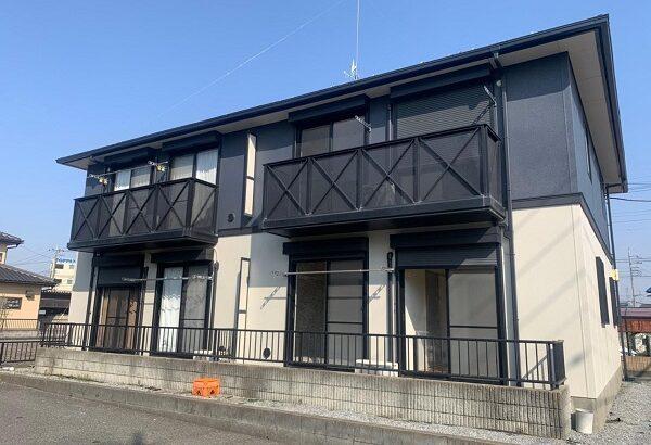 群馬県邑楽郡 アパート 屋根塗装・外壁塗装・付帯部塗装