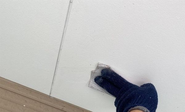群馬県前橋市 G様邸 外壁塗装・付帯部塗装 軒天、軒裏天の塗装 役割とは (4)