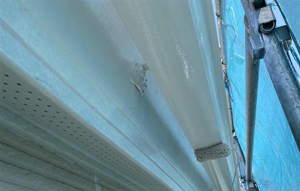 群馬県前橋市 G様邸 外壁塗装・付帯部塗装 雨樋の塗装 縦樋、軒樋 (9)