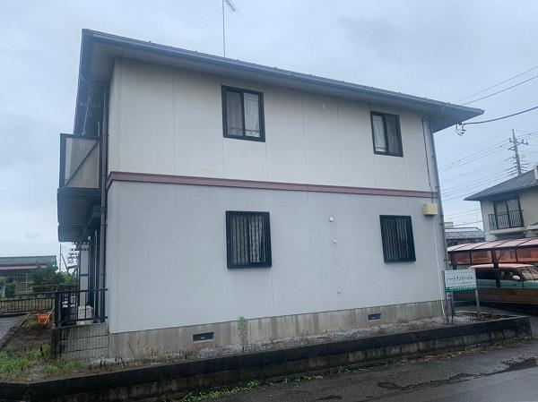群馬県邑楽郡 アパート 屋根塗装・外壁塗装・付帯部塗装 (19)