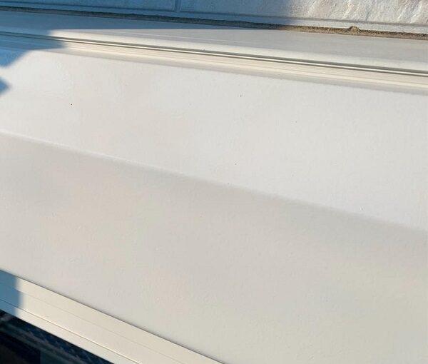 群馬県高崎市 I様邸 外壁塗装・付帯部塗装 シャッターボックス、水切り板金塗装 手順 (8)