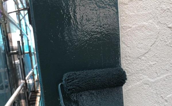 群馬県前橋市 K様邸 屋根塗装・外壁塗装・付帯部塗装 軒天、破風板、雨樋、モールの塗装 ジョンキングNAD (4)