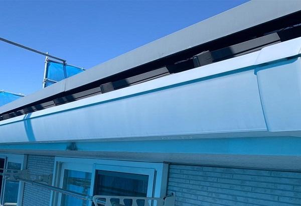 群馬県高崎市 I様邸 外壁塗装・付帯部塗装 雨樋、破風板、鼻隠し塗装 ケレン作業とは (12)