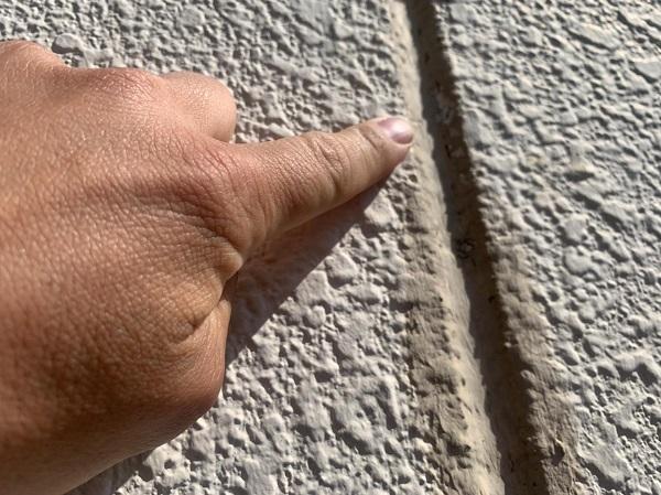 群馬県前橋市 K様邸 屋根塗装・外壁塗装・付帯部塗装・防水工事 施工前 チョーキング現象とは (9)