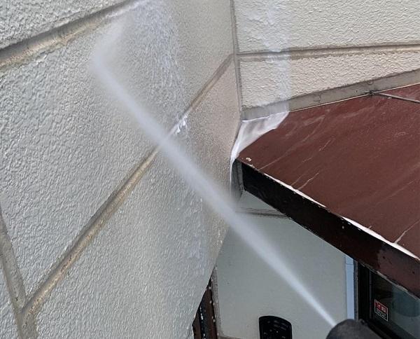 群馬県前橋市 K様邸 屋根塗装・外壁塗装・付帯部塗装・防水工事 バイオ洗浄 高圧洗浄との違い (2)