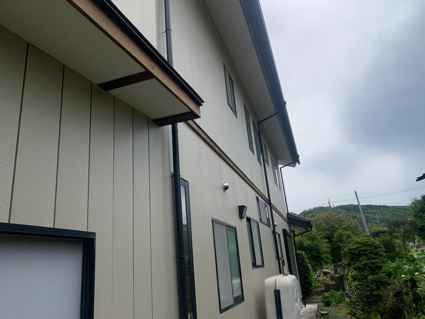 群馬県渋川市 S様邸 外壁塗装・付帯部塗装2 (1)