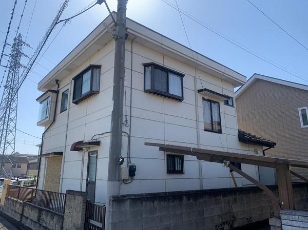 群馬県前橋市 K様邸 屋根塗装・外壁塗装・付帯部塗装・防水工事 (5)