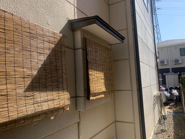 群馬県前橋市 K様邸 屋根塗装・外壁塗装・付帯部塗装・防水工事 施工前 チョーキング現象とは (7)