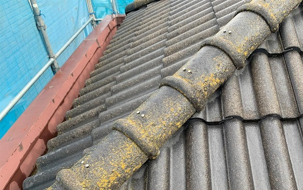 群馬県前橋市 K様邸 屋根塗装・外壁塗装・付帯部塗装・防水工事 施工前 チョーキング現象とは (1)