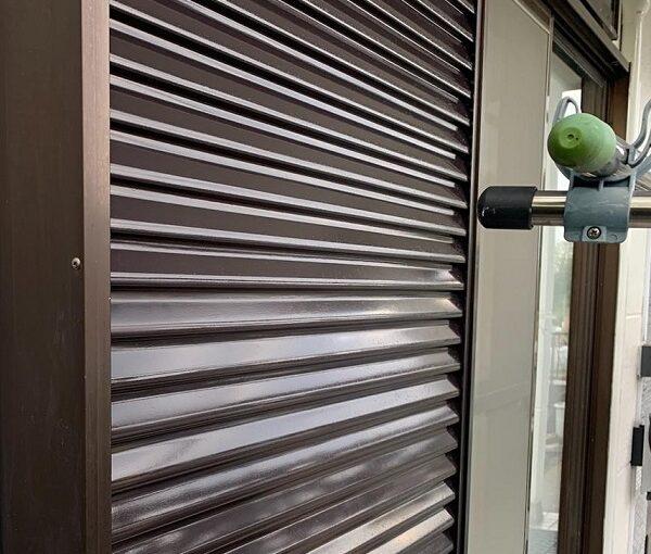 群馬県前橋市 K様邸 屋根塗装・外壁塗装・付帯部塗装・防水工事 雨戸塗装 吹き付け工法 (3)