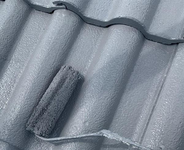群馬県前橋市 K様邸 屋根塗装・外壁塗装・付帯部塗装・防水工事 ガイソールーフガードネオ無機 シーラーストロング (2)