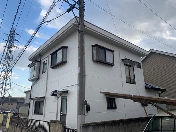 群馬県前橋市 K様邸 屋根塗装・外壁塗装・付帯部塗装・防水工事 (3)
