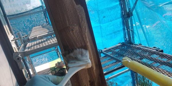 群馬県渋川市 S様邸 外壁塗装・付帯部塗装 軒天塗装 木部塗装 (12)