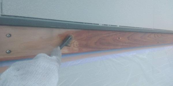群馬県渋川市 S様邸 外壁塗装・付帯部塗装 軒天塗装 木部塗装 (6)