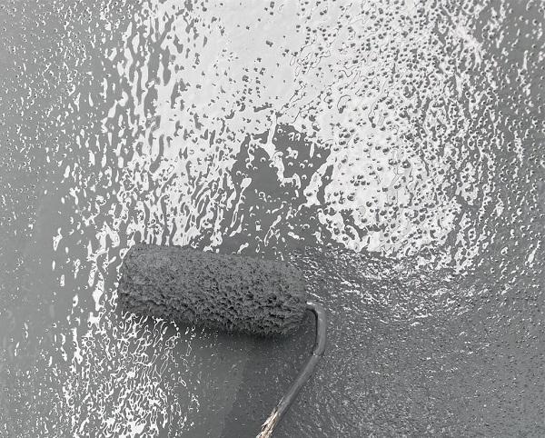 群馬県前橋市 K様邸 屋根塗装・外壁塗装・付帯部塗装・防水工事 ベランダ防水 トップコート塗り替え (5)