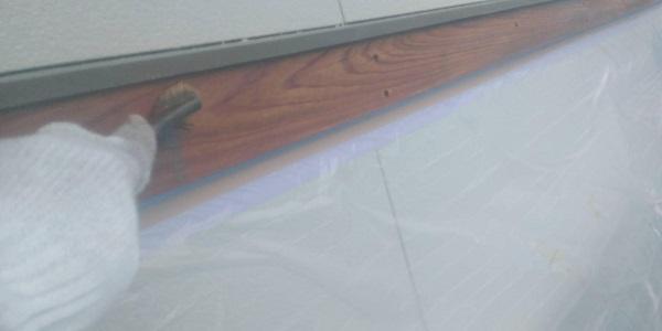 群馬県渋川市 S様邸 外壁塗装・付帯部塗装 軒天塗装 木部塗装 (1)
