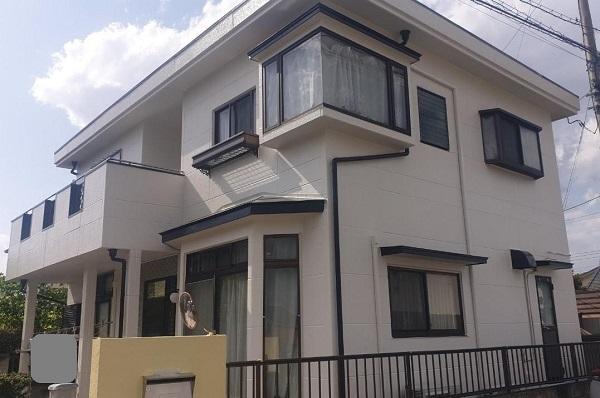 群馬県前橋市 K様邸 屋根塗装・外壁塗装・付帯部塗装・防水工事 (1)