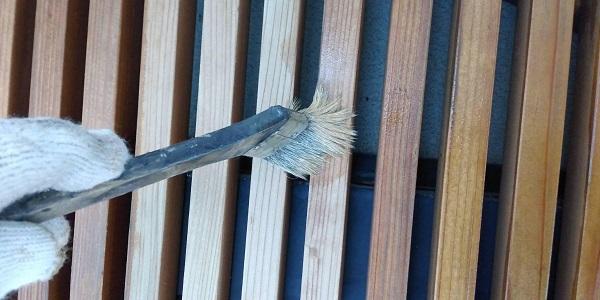 群馬県渋川市 S様邸 外壁塗装・付帯部塗装 軒天塗装 木部塗装 (15)