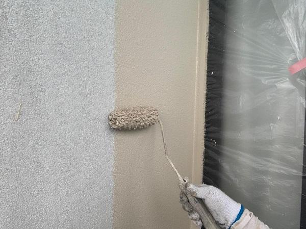 群馬県渋川市 S様邸 外壁塗装・付帯部塗装 ガイソーウォール無機ACE GWフィーラー微弾性 (5)