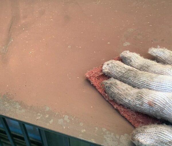 群馬県前橋市 K様邸 屋根塗装・外壁塗装・付帯部塗装・防水工事 ドブ板塗装 庇塗装 (3)