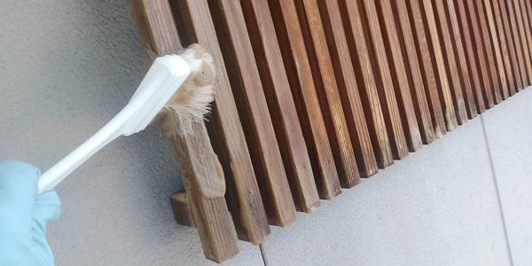 群馬県渋川市 S様邸 外壁塗装・付帯部塗装 軒天塗装 木部塗装 (11)