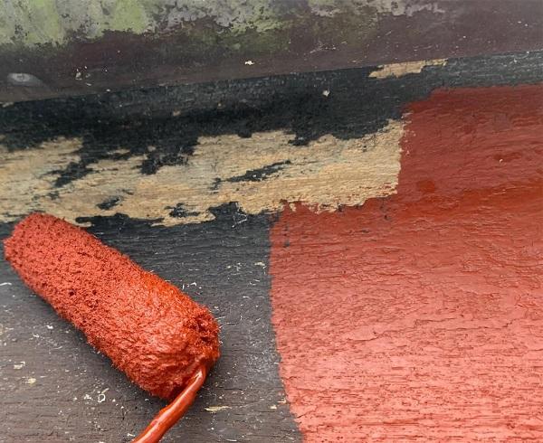 群馬県前橋市 K様邸 屋根塗装・外壁塗装・付帯部塗装・防水工事 破風塗装 雨樋塗装 (1)
