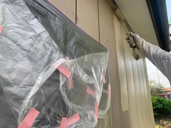 群馬県渋川市 S様邸 外壁塗装・付帯部塗装 軒天塗装 木部塗装 (8)