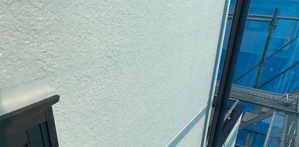 群馬県前橋市 K様邸 屋根塗装・外壁塗装・付帯部塗装・防水工事 ガイソーウォール無機ACE GW微弾性フィラー (3)