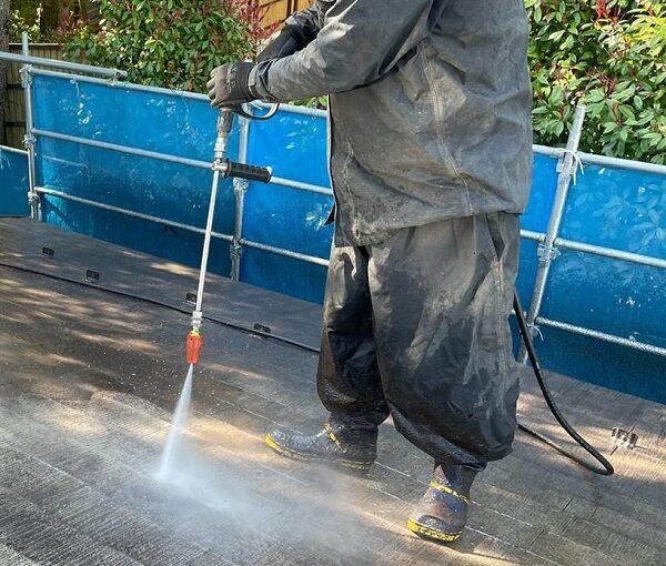群馬県渋川市 I様邸 屋根塗装・付帯部塗装 高圧洗浄 ひび割れ補修 (6)