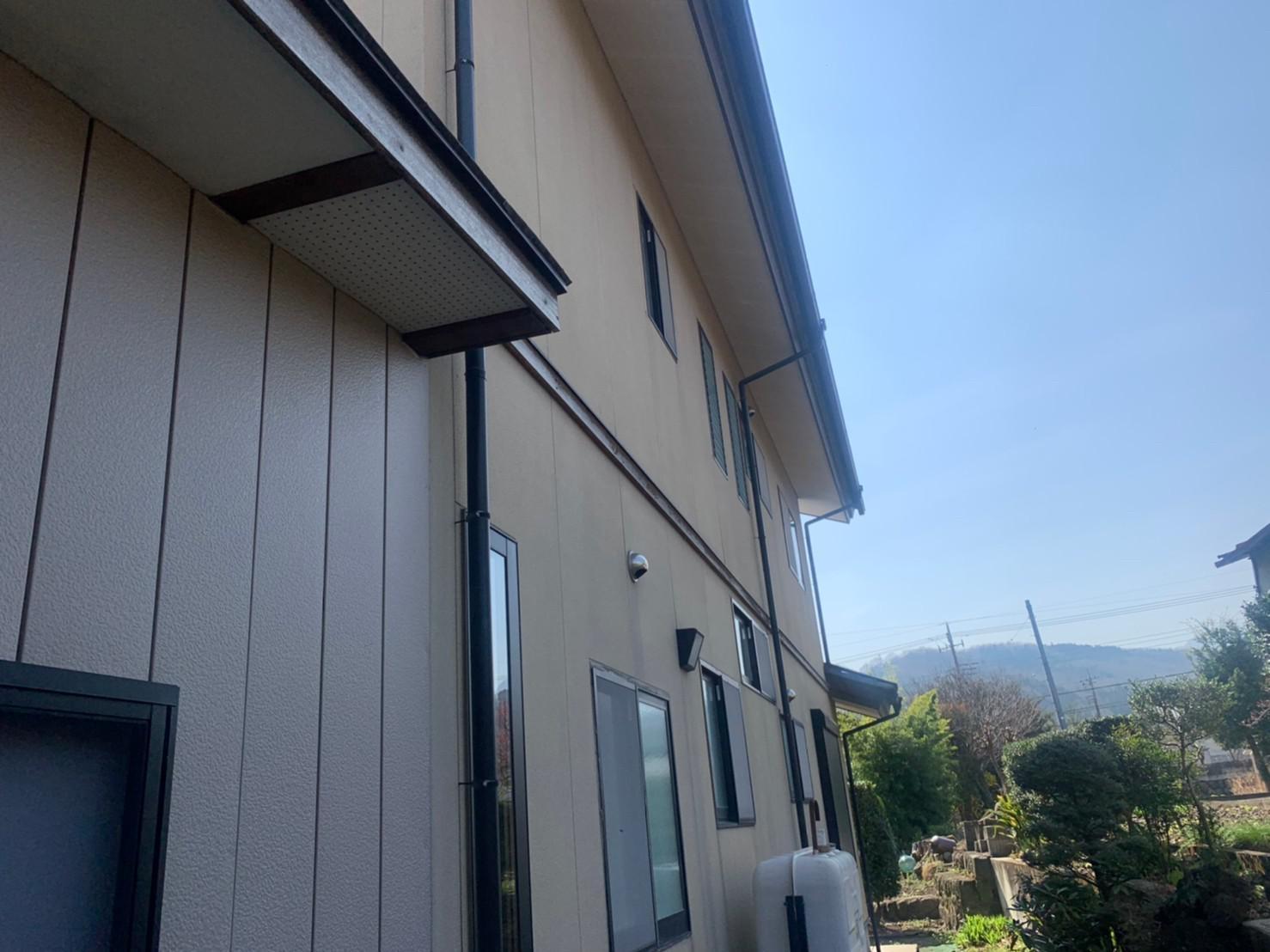 群馬県渋川市 S様邸 外壁塗装・付帯部塗装2 (2)