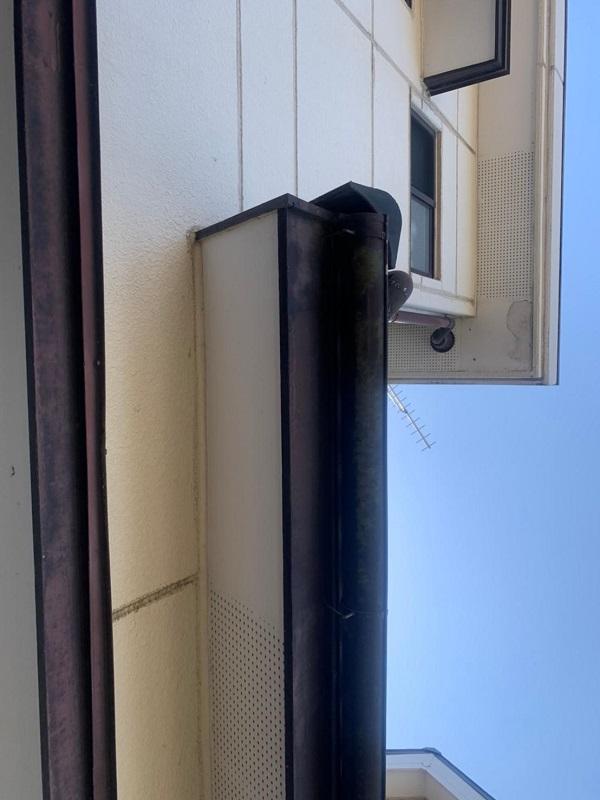 群馬県前橋市 K様邸 屋根塗装・外壁塗装・付帯部塗装・防水工事 施工前 チョーキング現象とは (5)